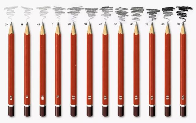 Mejores lápices para dibujar H y B