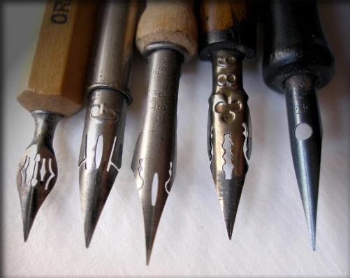 tipos de plumilla para dibujar manga