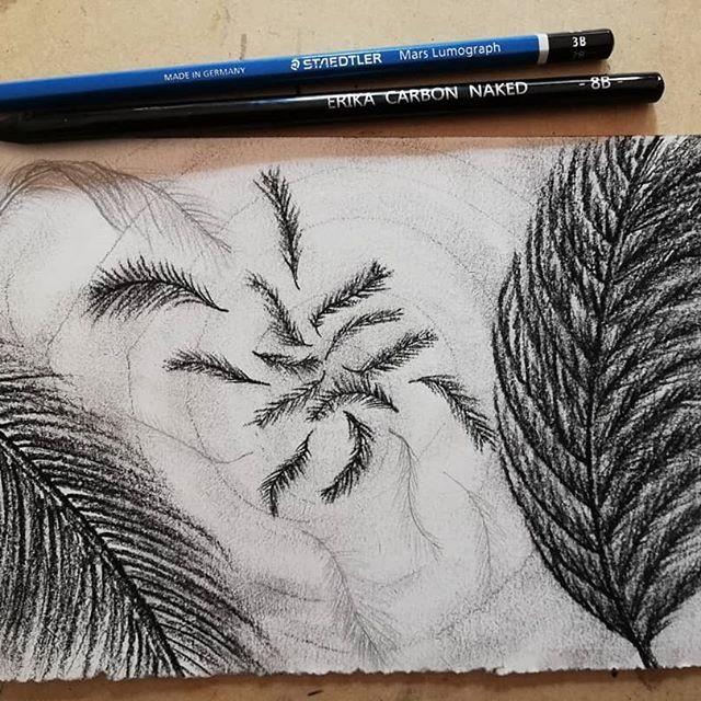 Arte con lápiz de carbón
