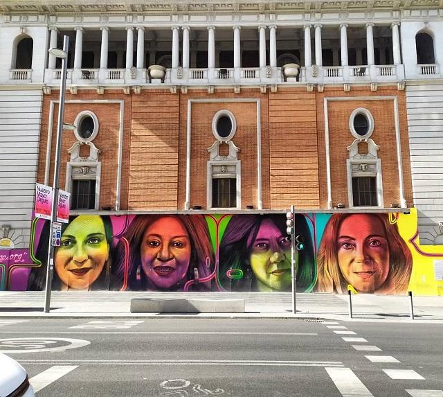arte urbano libre en madrid