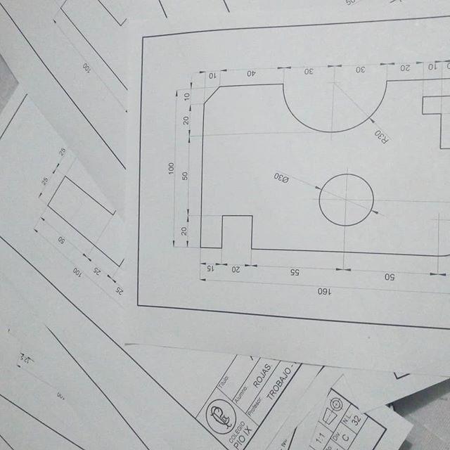 clasificación de dibujo técnico