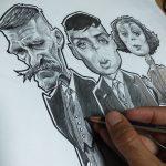 como hacer una caricatura