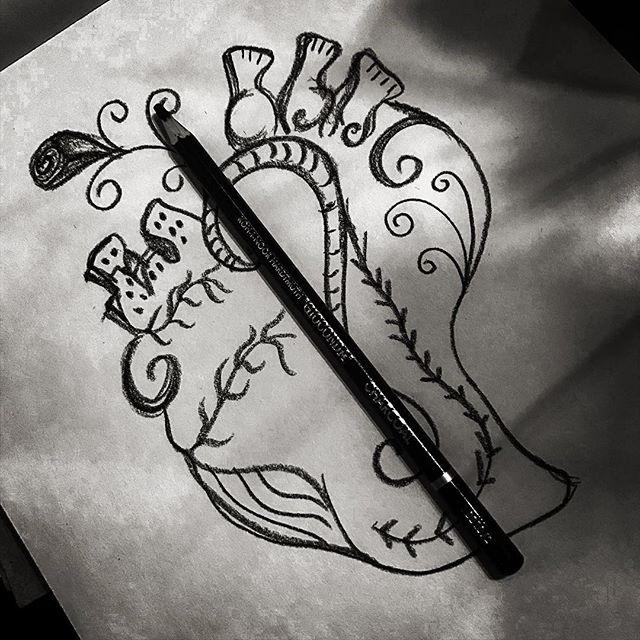dibujar con lápiz de carbon