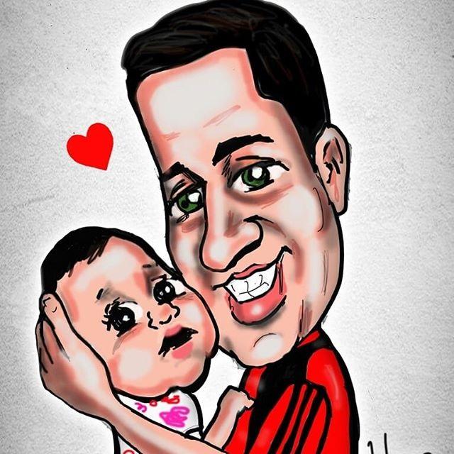 familia caricatura
