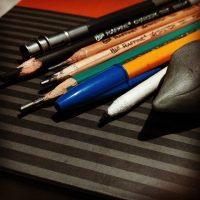 lápiz de carbon