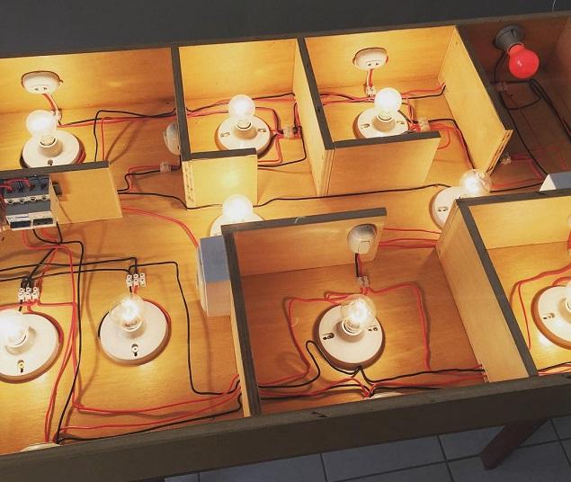 circuito de dibujo eléctrico