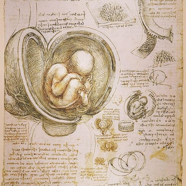 la escritura al revés de Da Vinci