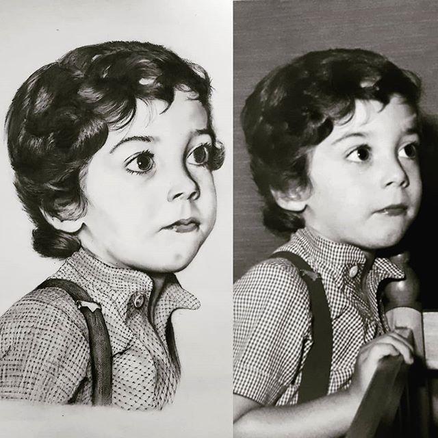 dibujar un retrato realista