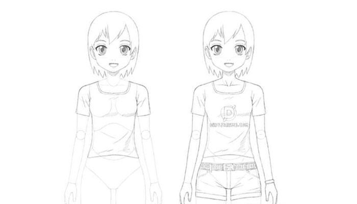 dibujar personajes