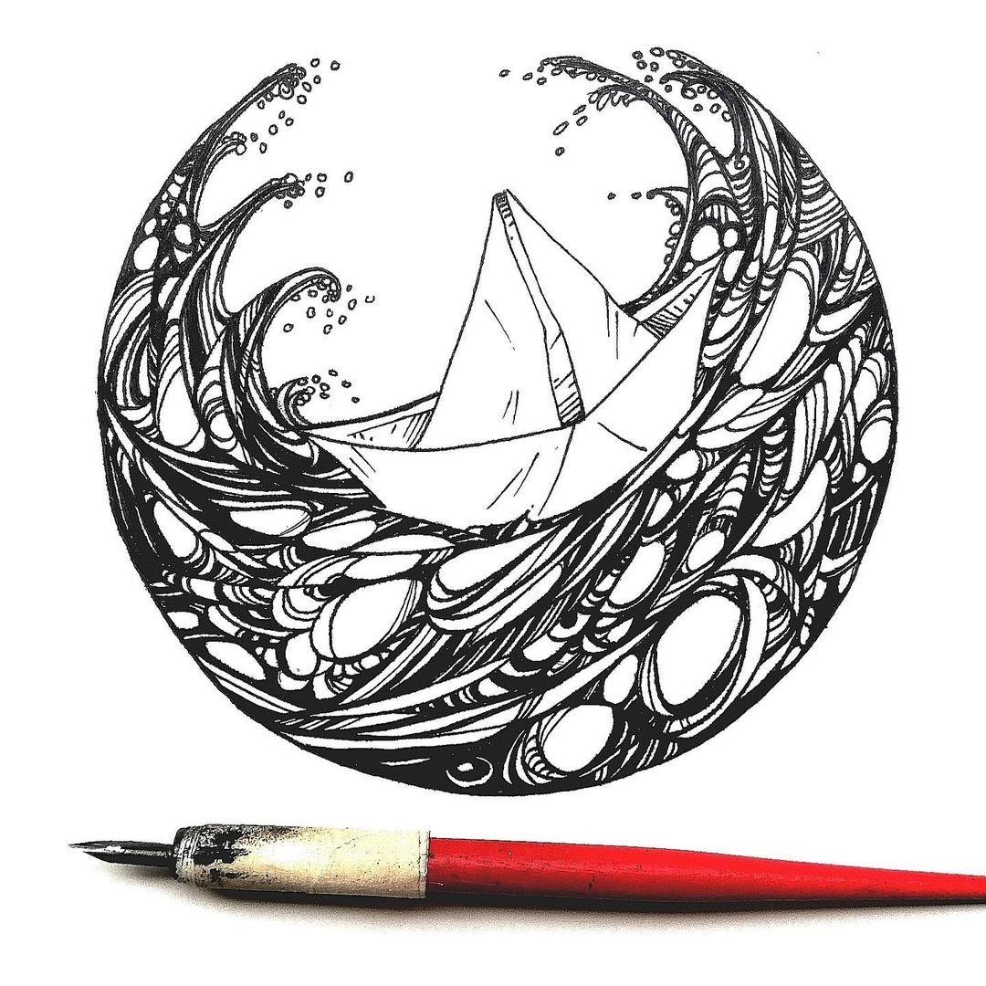 dibujar sin lápiz