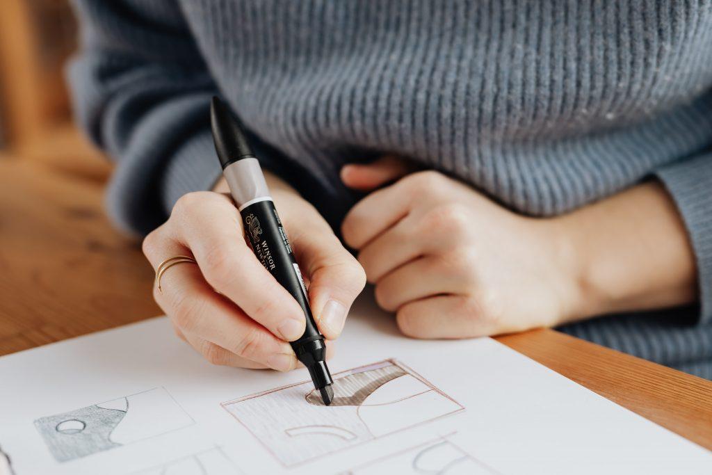 dibujos fáciles a rotulador